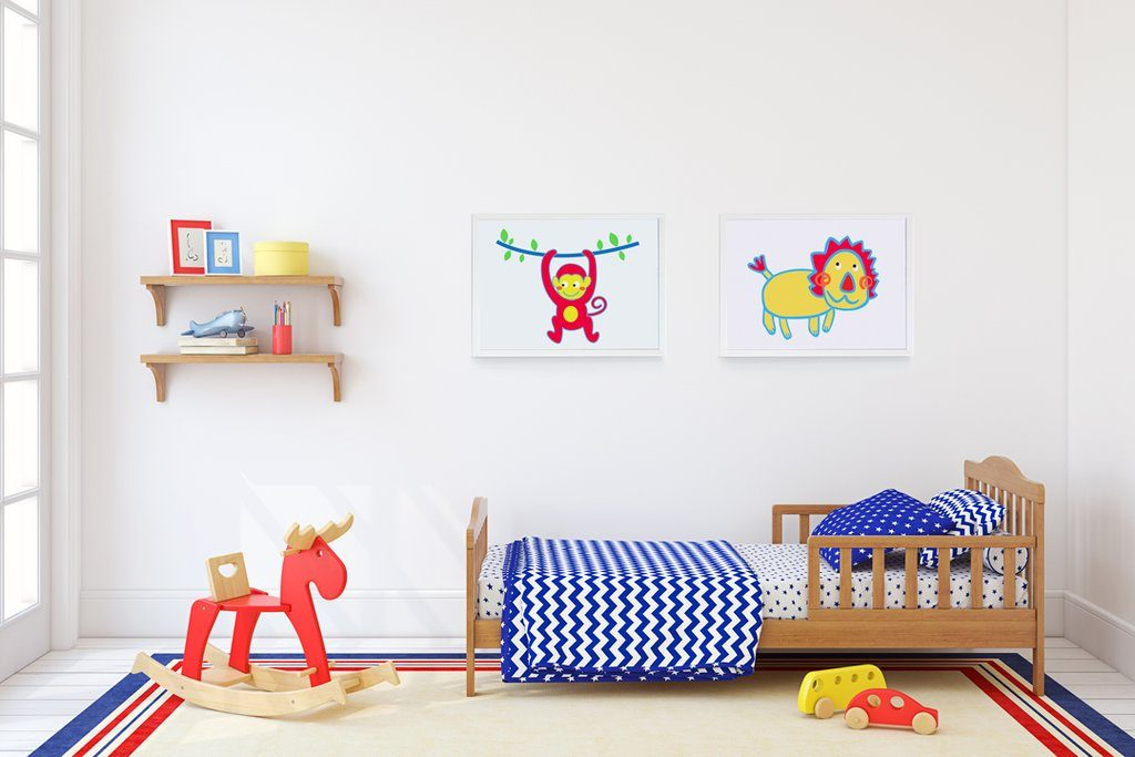nursery wall art girl